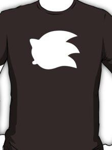 Sonic the Hedgehog Symbol - Super Smash Bros. (white) T-Shirt