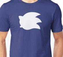 Sonic the Hedgehog Symbol - Super Smash Bros. (white) Unisex T-Shirt