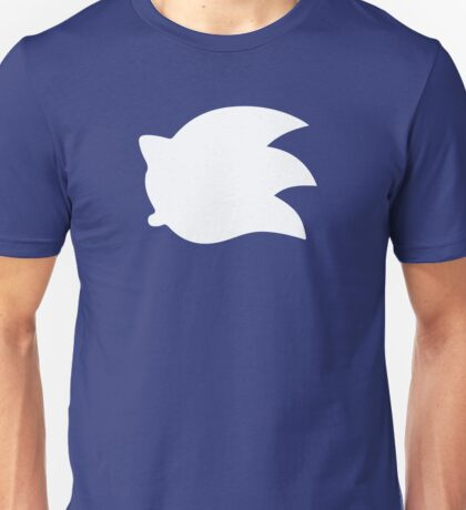 Sonic the Hedgehog Symbol - Super Smash Bros. (white) Unisex T-Shirt