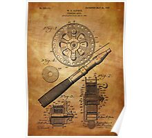 Fishing Reel Patent 1906  Poster