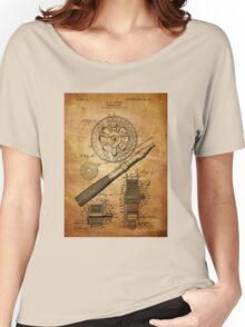 Fishing Reel Patent 1906  Women's Relaxed Fit T-Shirt