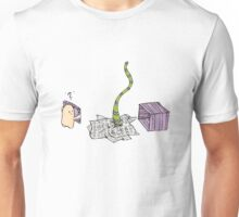 the package Unisex T-Shirt
