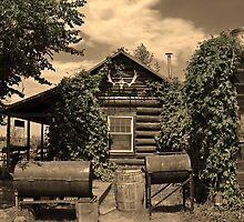 P.O. Box Polebridge, Montana by Bryan Peterson