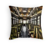 The Last Stop Throw Pillow