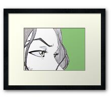 Chief Lin Beifong Framed Print