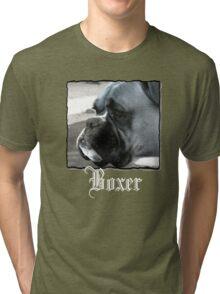 Boxer headshot Tri-blend T-Shirt