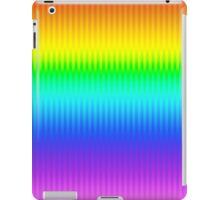 Bright Rainbow Vertical Stripe Pattern iPad Case/Skin