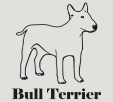 Bull terrier breed shirt by ritmoboxers