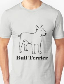 Bull terrier breed shirt T-Shirt