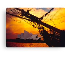 And at the end of the day...... Canvas Print