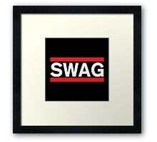 SWAG - Run Dmc Style Framed Print