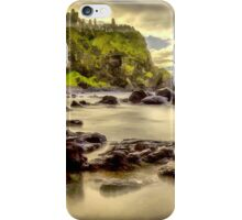 Evening at Dunluce Castle iPhone Case/Skin