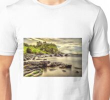 Evening at Dunluce Castle Unisex T-Shirt