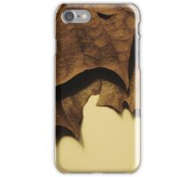 Leathery Leaves iPhone Case/Skin