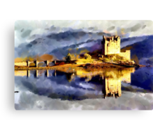 Eilean Donan Castle, Scotland - all products Canvas Print