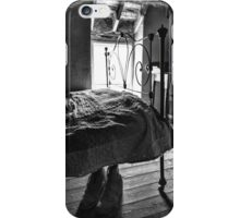 Boots under the bed iPhone Case/Skin