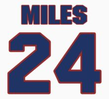 National baseball player Dee Miles jersey 24 by imsport