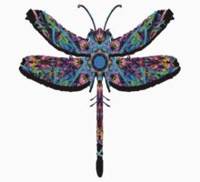 Psychodelic Dragonfly by deleas