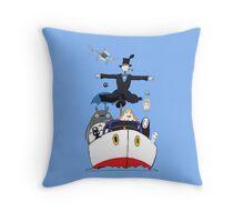 Ghibli mix2 Throw Pillow