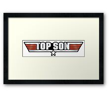 Top Son Callsign Framed Print