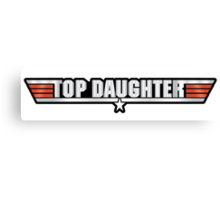 Top Daughter Callsign Canvas Print