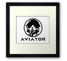 Aviator Fighter Pilot Framed Print