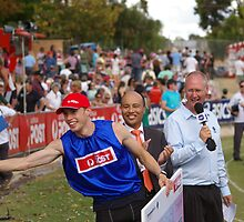 Sam Jamieson Stawell gift winner 2008  by Max Lacey