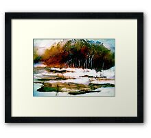 A Winter Day.. Framed Print