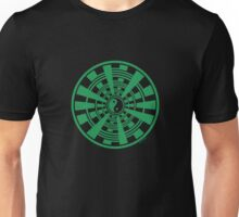 Mandala 36 Yin-Yang Green With Envy Unisex T-Shirt