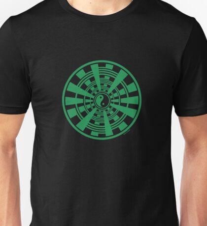 Mandala 36 Yin-Yang Green With Envy Unisex T-Shirt