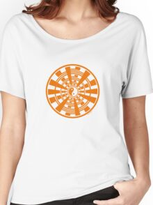 Mandala 36 Yin-Yang Vitamin C Women's Relaxed Fit T-Shirt
