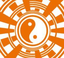 Mandala 36 Yin-Yang Vitamin C Sticker