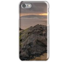 Fishing at Sunset iPhone Case/Skin