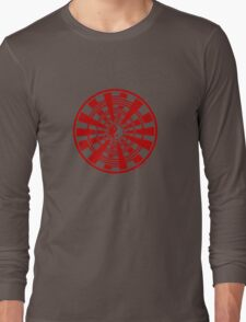 Mandala 36 Yin-Yang Colour Me Red T-Shirt