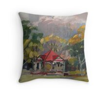 New Farm Park Throw Pillow