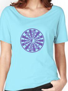 Mandala 36 Yin-Yang Purple Haze Women's Relaxed Fit T-Shirt