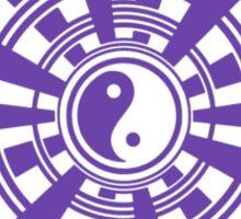 Mandala 36 Yin-Yang Purple Haze Sticker