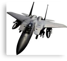 F-15 Jet Fighter Canvas Print