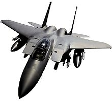 F-15 Jet Fighter Photographic Print