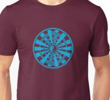 Mandala 36 Yin-Yang In To The Blue Unisex T-Shirt