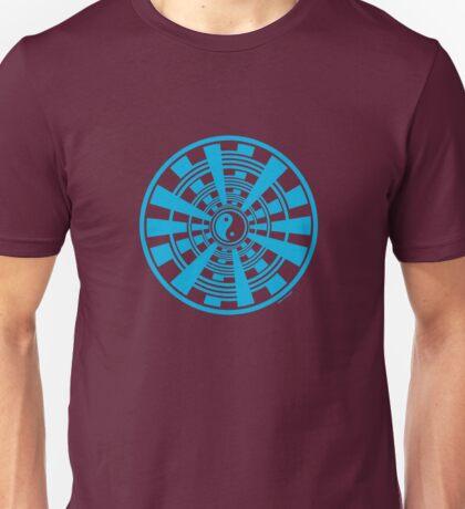 Mandala 36 Yin-Yang In To The Blue Unisex T-Shirt
