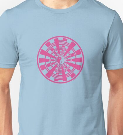 Mandala 36 Yin-Yang Pretty In Pink Unisex T-Shirt