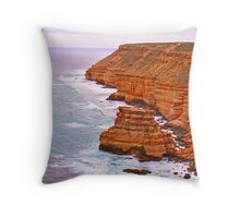 Corner of the Earth Throw Pillow