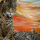 Leopards by Cherie Roe Dirksen