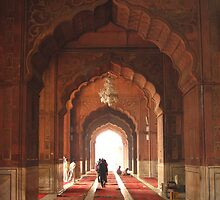 Jama Masjid Mosque, Delhi INDIA by soundmind