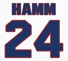 National baseball player Pete Hamm jersey 24 by imsport
