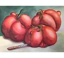 Deformed Tomatoes Photographic Print