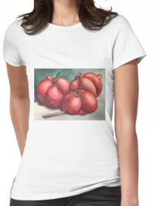 Deformed Tomatoes Womens Fitted T-Shirt