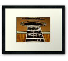 Plectrum Heaven Framed Print