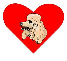 Poodle Heart by kwg2200